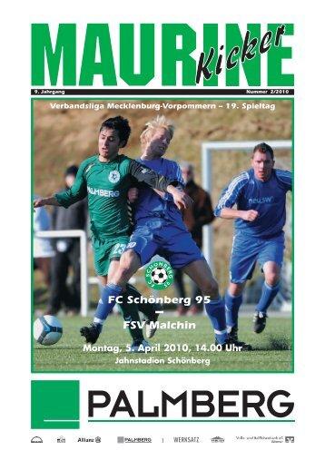 FSV Malchin - FC Schönberg 95