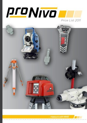 Price List 2011 - proNIVO