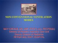 NON CONVENTIONAL VENTILATION MODES - rm solutions