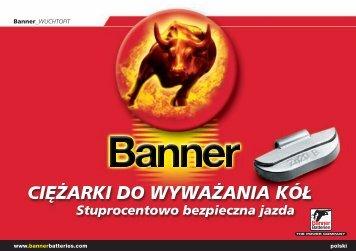 Banner wuchtofit