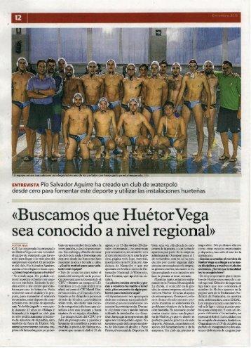 ENTREVISTA Pío Salvador Aguirre ha creado un club de Waterpolo ...