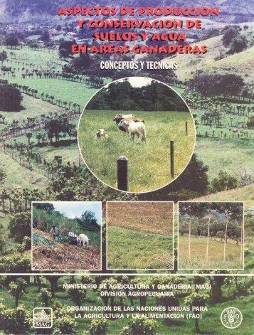 Aspectos de producción y conservación de suelos y - Ministerio de ...