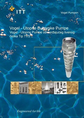 Vogel - Utopne Bunarske Pumpe - Pumpenfabrik Ernst Vogel