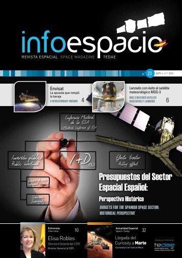 Presupuestos del Sector Espacial Español: - Tedae