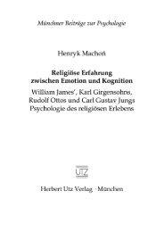 Leseprobe (338 KB) - Herbert Utz Verlag GmbH