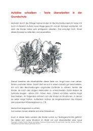 Texte überarbeiten in der Grundschule - Niekao Lernwelten