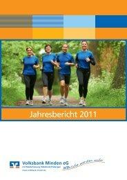 PDF Geschäftsbericht 2011 - Volksbank Minden eG