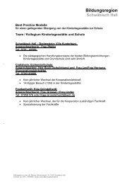 Bildungsregion - Stadt Schwäbisch Hall