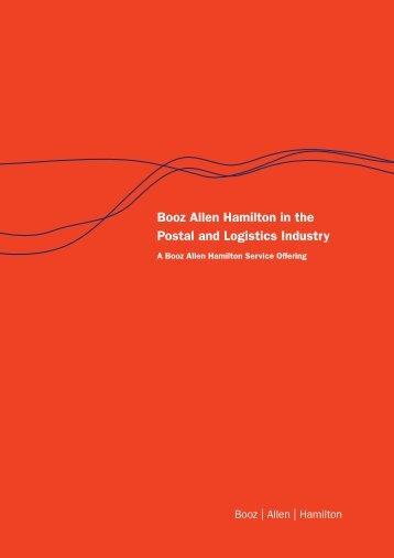 Booz Allen Hamilton in the Postal and Logistics Industry
