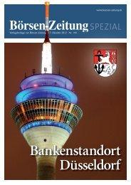Bankenstandort Düsseldorf - Börsen-Zeitung