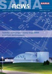 Technika i technologia - rozwój Grupy SARIA w centrum ...