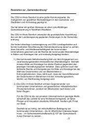 Josef Niehues - CDU Kreisverband Steinfurt