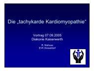 Vortrag Dr. Niehues Kaiserswerth - bei der Kaiserswerther Diakonie