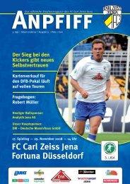 FC Carl Zeiss Jena Fortuna Düsseldorf