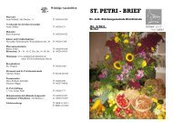 Herbst 2011 Internet - Evangelisch-lutherische Kirchengemeinde ...
