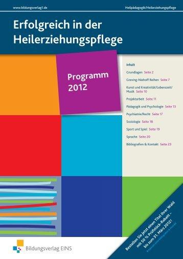 Erfolgreich in der Heilerziehungspflege - Bildungsverlag EINS