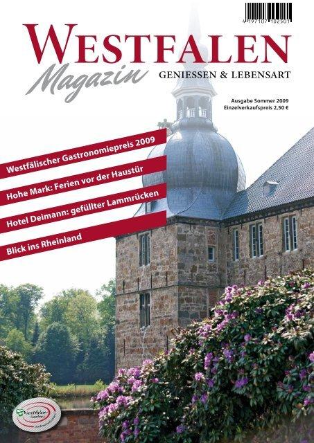 Westfälischer Gastronomiepreis 2009 - Westfalen Gastro