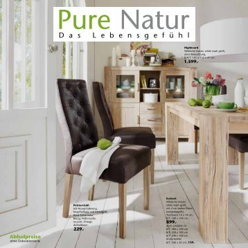 Naturmöbel 20 free magazines from niehoff moebel de