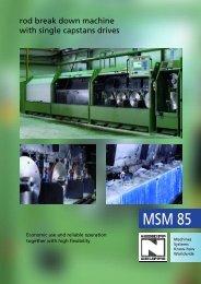 MSM 85 - Maschinenfabrik NIEHOFF