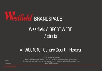 Download Site Map - Westfield Pop-Up