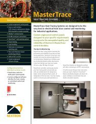 Mastertrace Heat Tracing System - Nextron