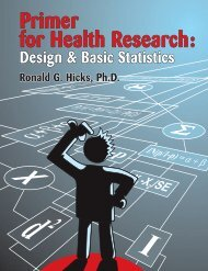 Primer for Health Research: - MyBook.net.au