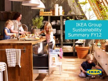 IKEA Group Sustainability Summary FY12
