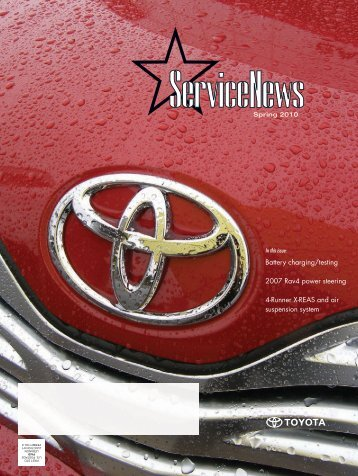 STAR Service News Missed an issue? - Toyota Parts & Service