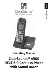 BTS001 Stereo Bluetooth Speaker User's manual - ClearSounds