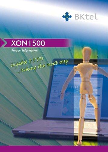 Gigabit FTTH ... taking the next step - BKtel
