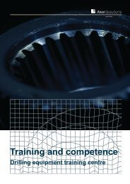 Training and competence - Aker Solutions
