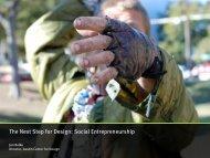The Next Step for Design: Social Entrepreneurship - Jon Kolko