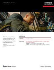 Hitachi Storage Virtualization Success Story with Cablemas
