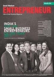 Small business top 100 entrepreneurs of the year - Franchise India