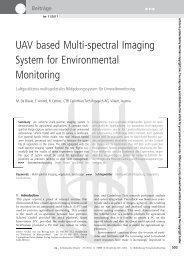 UAV based Multi-spectral Imaging System for Environmental ...