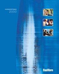 Vuosikertomus 2000 - Basware
