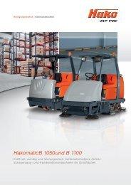 Hakomatic B 1050 und B 1100 - Stangl Reinigungstechnik GmbH