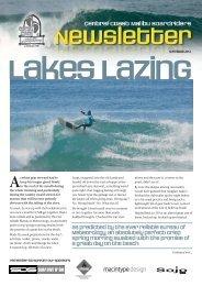 September 2012 Newsletter - Central Coast Malibu Boardriders Club