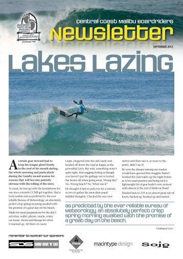 September 2012 Newsletter - Central Coast Malibu Boardriders Club 687cb54c8b0