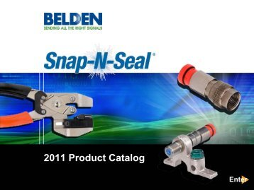 2011 Product Catalog - Belden