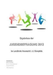 Jugendbefragung 2012 - Landkreisauswertung - Landkreis Neumarkt