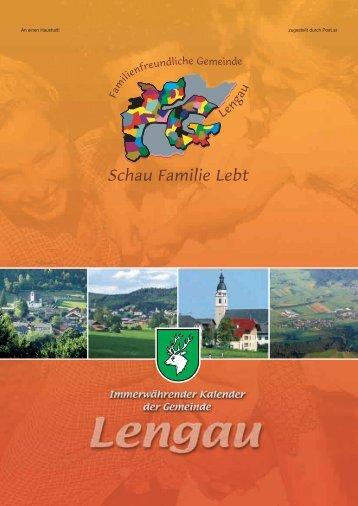Familienfreundliche Gemeinde Lengau