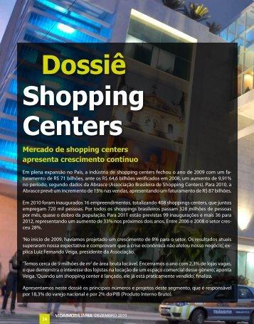 Dossiê Shopping Centers - Vida Imobiliaria Brasil
