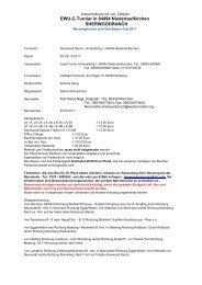 EWU-C-Turnier in 84494 Niedertaufkirchen ... - Wittelsbuerger