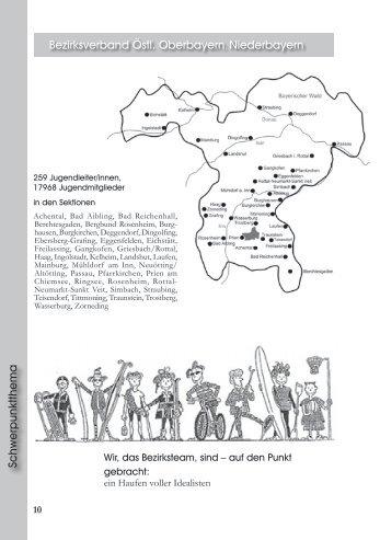 Bezirk Östl. Oberbayern/Niederbayern - JDAV Bayern