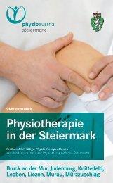Folder Obersteiermark - Physio Austria