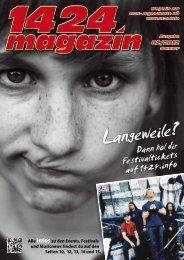 Magazin 2/12 - Deine NÖ Jugendkarte 1424