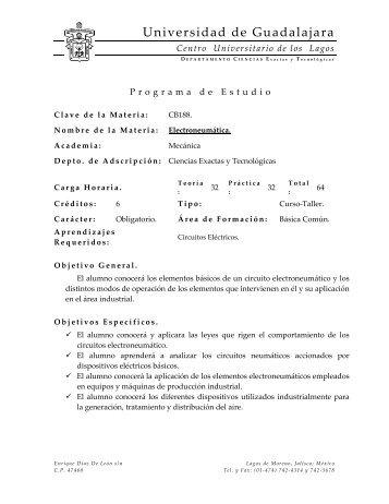 cálculo diferencial e integral - Centro Universitario de los Lagos ...