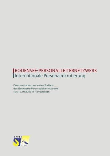 Dokumentation (PDF, 342KB) - EURES Bodensee
