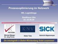 Prozessoptimierung im Netzwerk - IWL AG